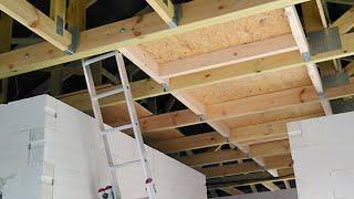 Aktualności Z Budowy #16 Podłoga Na Stryszku