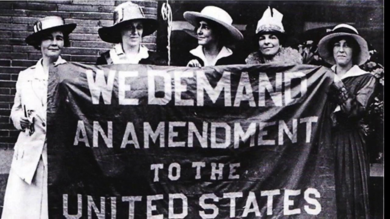 Womens Suffrage Movement 19th Amendment