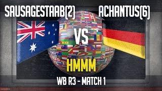 stats match 1 hmm sausagestab 2 vs achantus 6 wb r3 ti3 mow as2