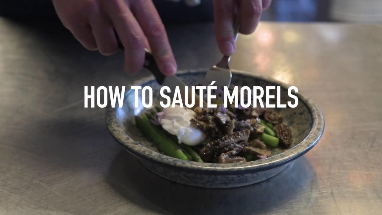 How To Saute Morel Mushrooms