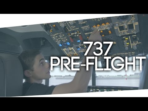 Imparare a pilotare un Boeing 737 [Ep.1 - Preflight]