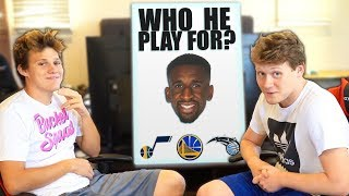 2HYPE PLAYS NBA 'WHO HE PLAY FOR: PLAYOFFS EDITION'