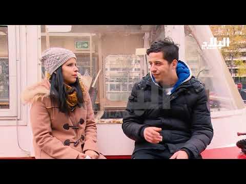 """العدد التاسع من برنامج """" خلف الستار """"  المهاجرين في فرنسا  -el bilad tv -"""