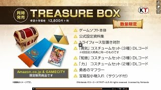 ゼルダ無双 トレジャーBox/ Hyrule Warriors Treasure Box 開封レポート