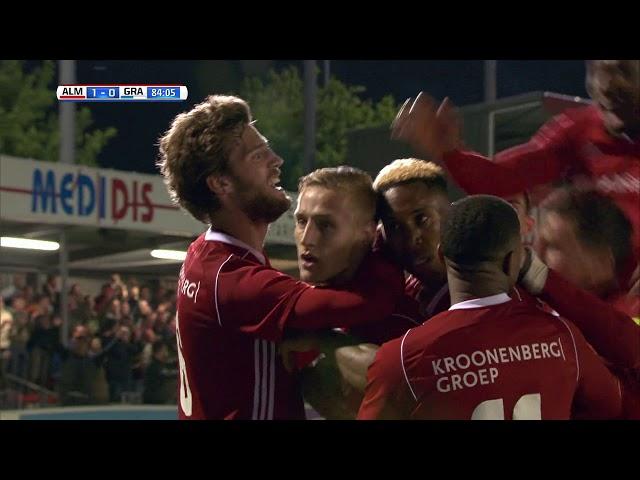 Samenvatting: Almere City FC - De Graafschap (1-1)