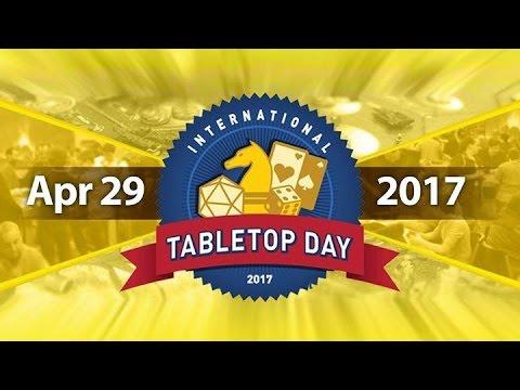 The Speakeasy TableTop Day 2017 Live Stream