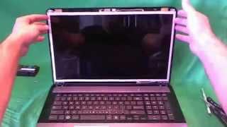 Toshiba Satellite L875D Laptop Screen Replacement Procedure