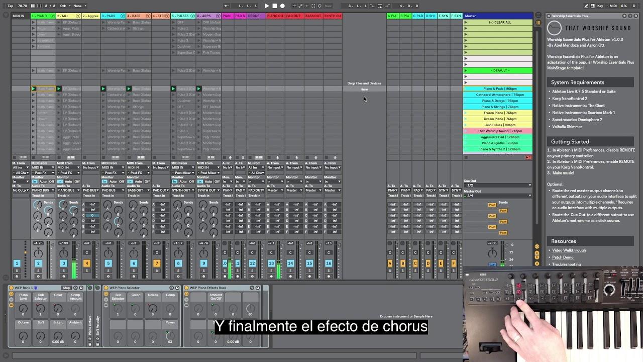 Worship Essentials Plus - Walkthrough con Subtitulos en Español