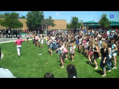 Flash Mob at Valley Center High School