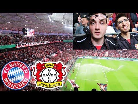Leverkusen - FC Bayern München | Krasser Stadionvlog mit Steel - DFB Pokal