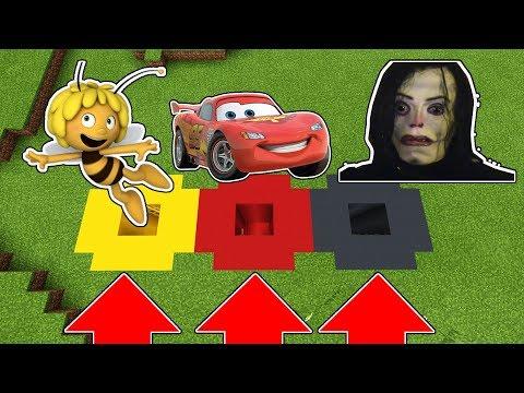 NE CHOISISSEZ PAS LE MAUVAIS TROU ! (Ayuwoki , Cars , Maya l'abeille)