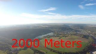 range test #01 BLADE Chroma 4K 2000M