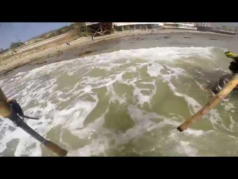 Surf Fishing for Calico Bass - March 29, 2015