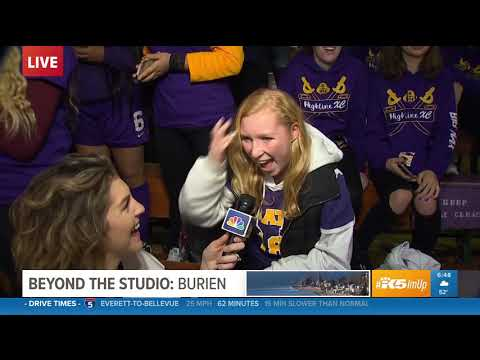 KING 5 Pep Rally - Highline High School