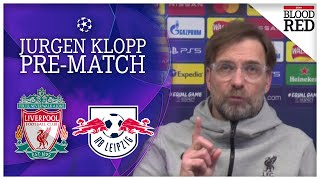 Jurgen Klopp Says No to Germany Press Conference Liverpool v RB Leipzig Champions League