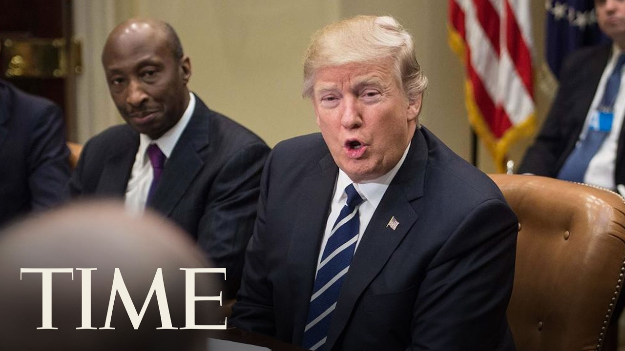 President Trump Meets With Pharmaceutical Executives At White House   TIME