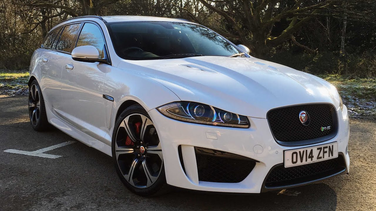 Jaguar XF R-S Sportke Test Drive - YouTube