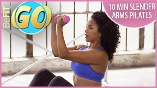 10 Min Pilates Slender Arms Workout for Mobile: BeFiT GO