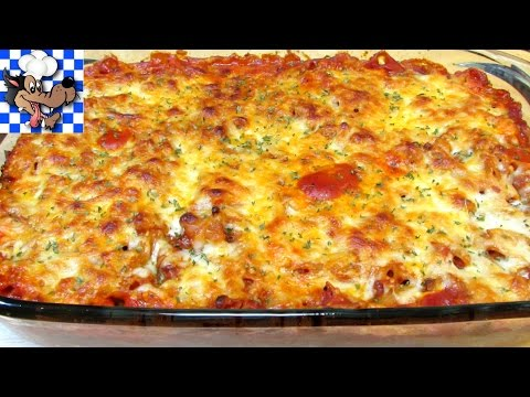 Baked Chicken and Penne Pasta Casserole - $10 Budget Meal Series