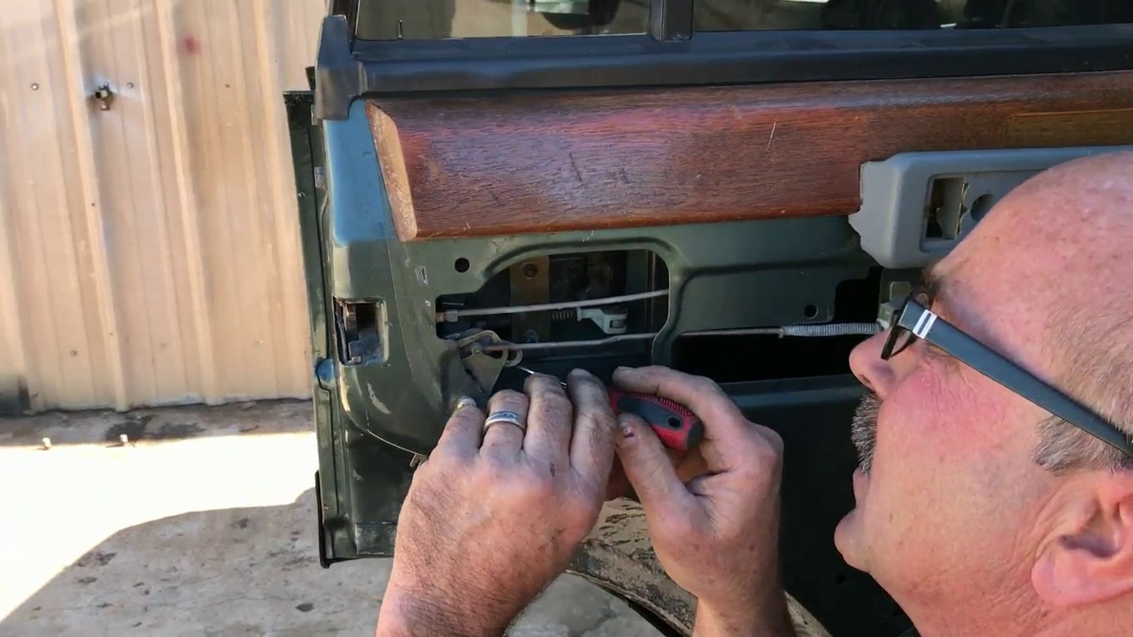 Door Handle Adjustment Range Rover Classic Hill Country