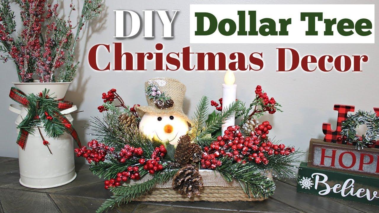 Diy Christmas Decorations Dollar Store