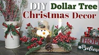 DIY Dollar Tree Christmas Decor | Dollar Tree Lighted Christmas DIY | Lighted Christmas Basket