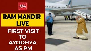 Ram Mandir Live Update: PM Narendra Modi En Route Ayodhya, Will Reach By 11.30