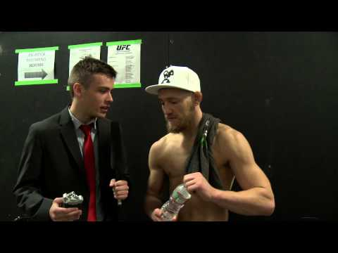 Post-Fight Interview with Conor McGregor following UFC Fight Night 26
