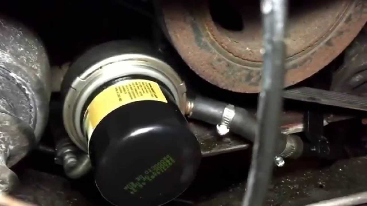location of fuel filter on 2009 altima [ 1280 x 720 Pixel ]