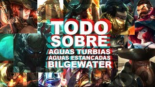 HISTORIA COMPLETA DE AGUAS TURBIAS | Universo Lol con Halo | Piratas, fantasmas y traiciones