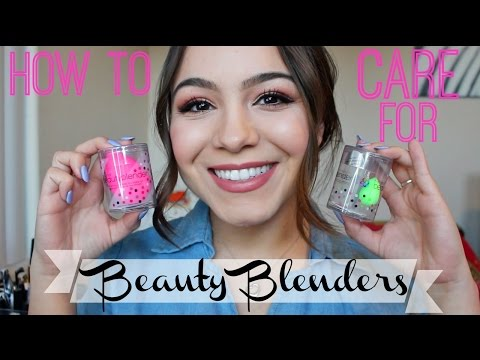 How to Wash & Store Your Beauty Blender ♡
