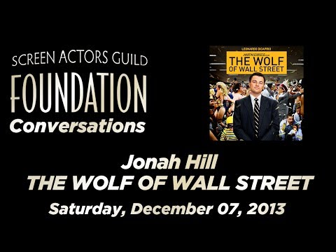 Conversations with Jonah Hill of THE WOLF OF WALL STREET