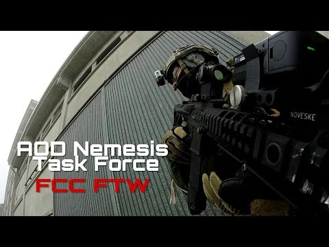 Softair Italia 2016 | Urban Zoom | AOD Nemesis Task Force | FCC FTW |
