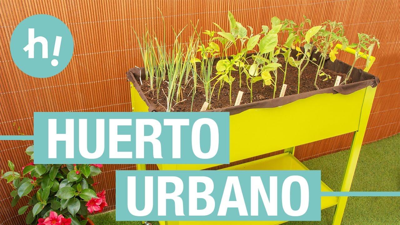 Huerto urbano para la terraza handfie diy youtube - Huerto de urbano ...