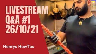 Henrys HowTos Q&A Livestream