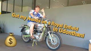 Got My Hands On a Royal Enfield In Udonthani