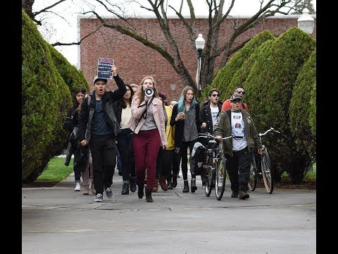 Chico students join Walkout protest movement