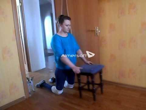 Ходьба на коленях - даосская практика