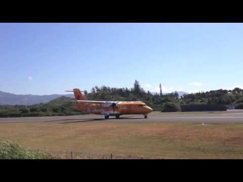 L'ATR 42 d'Air Calédonie décolle pour la dernière fois de Magenta
