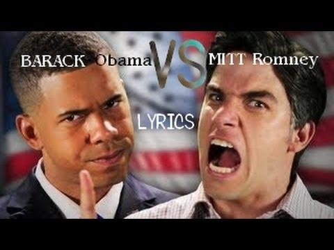 Barack Obama vs Mitt Romney - Song Lyrics & Knowledge
