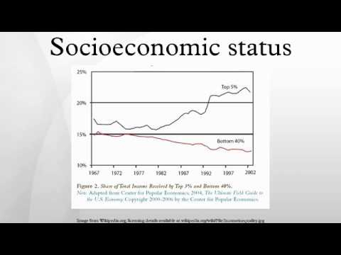 what might the socio economic status Introduction: clinician perceptions of patients with low socioeconomic status (ses) have been shown to affect clinical decision making and health care delivery in this group however, it is unknown how and if low ses patients perceive clinician bias might affect their health care.
