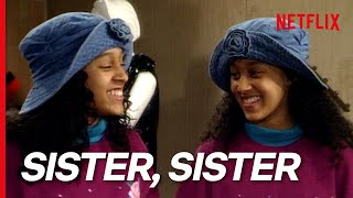 Sister, Sister First Ever Scene | Tia Meets Tamera At The Mall