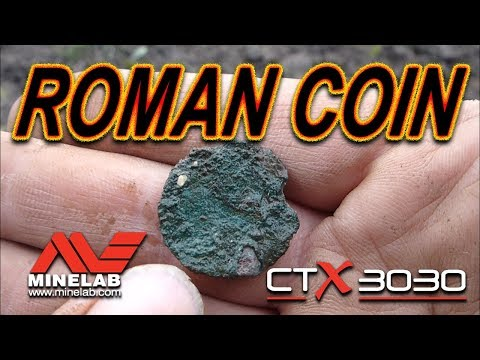 WOW! Roman Coin found Metal Detecting with CTX3030