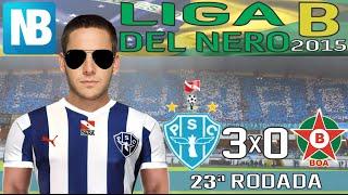 NARRADOR BICOLOR   Paysandu 3 x 0 Boa Esporte