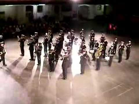 The Naden Band of Maritime Forces Pacific