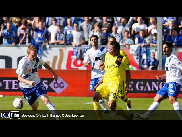 2012-2013 - Jupiler Pro League - 09. AA Gent - Club Brugge 2-2