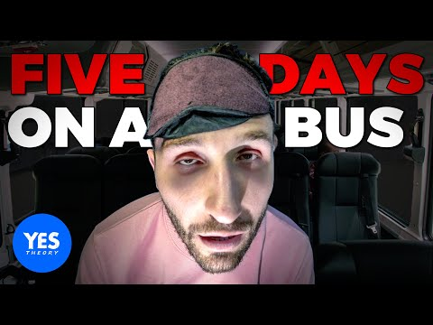 I Took The Longest Bus Ride in America... 84HRS OF HELL