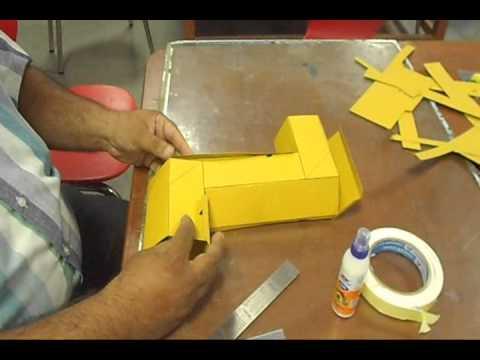 Making a periscope doovi for Homemade periscope pvc