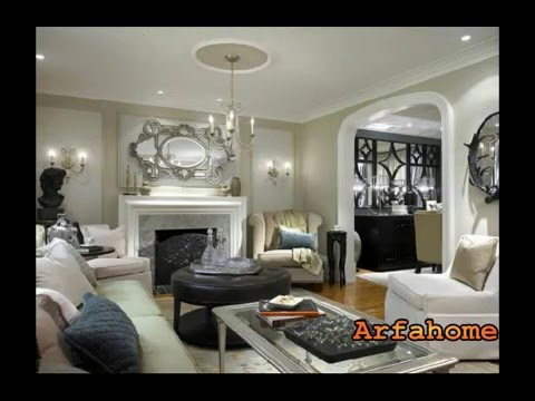 Simple Living Room With Tv simple living room tv wall units - youtube