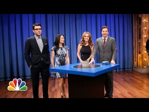 Catchphrase with Lucy Liu, Zachary Quinto and Giada De Laurentiis Late Night with Jimmy Fallon